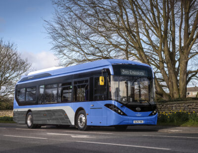 First Bus Orders 22 BYD ADL Enviro200EVs for Glasgow Network