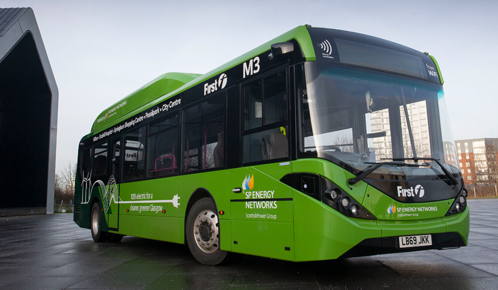 first bus green transport