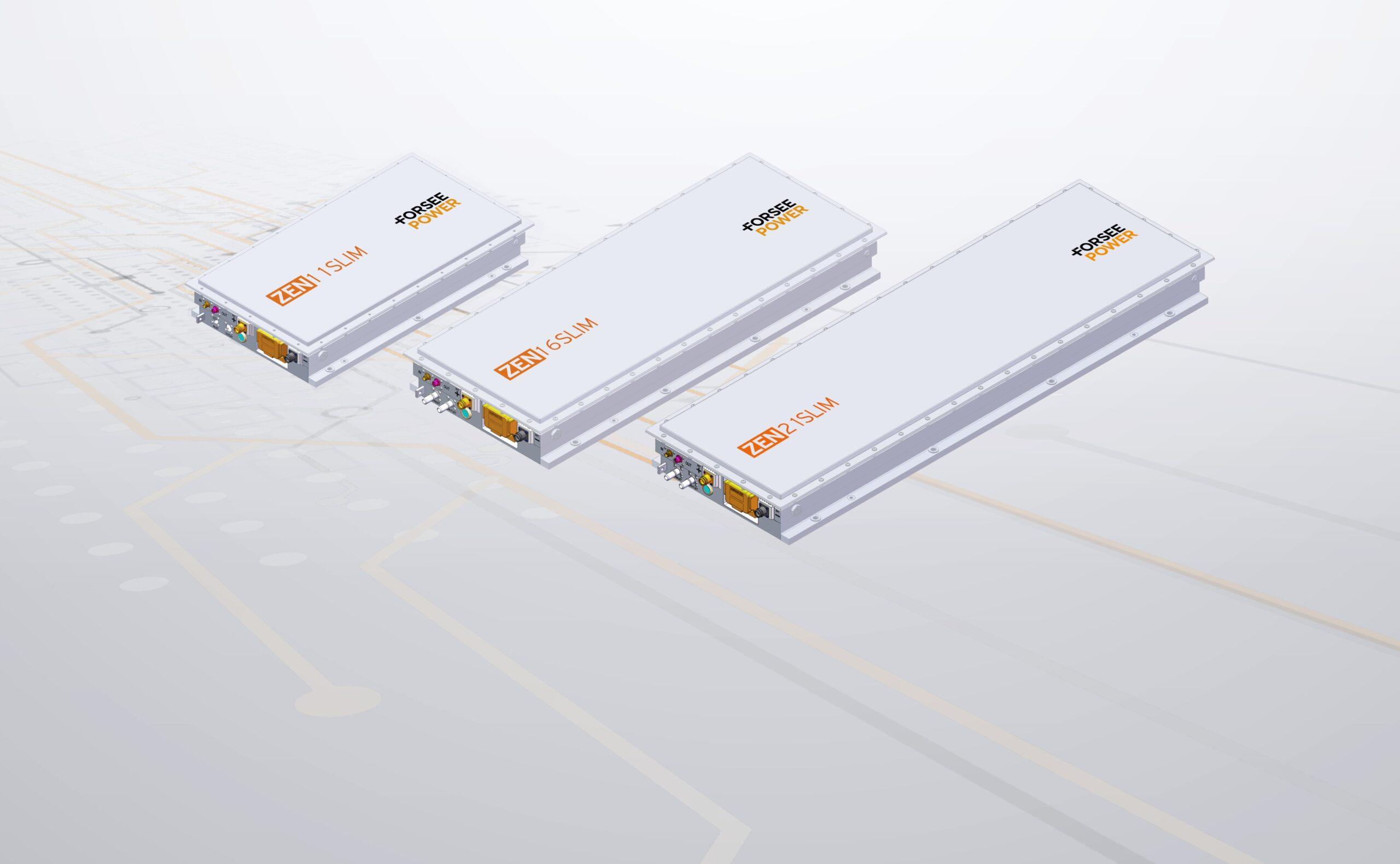 ZEN modular batteries
