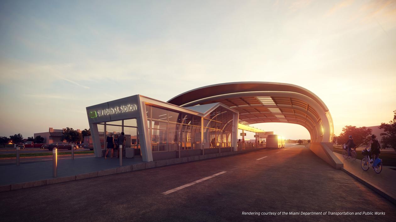 hntb Miami-dade transitway