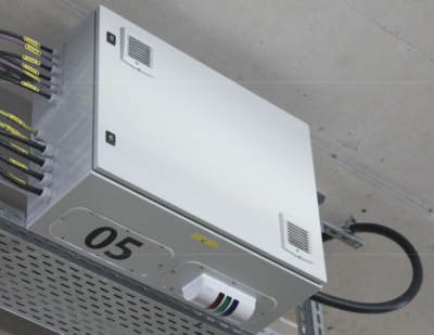 Heliox: Charging Infrastructure With DC Outlet for Darmstadt