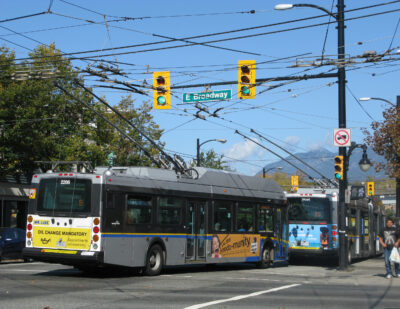 Government of Canada Investing to Electrify Transit Systems