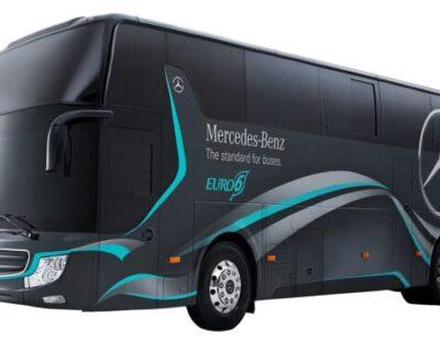 New Mercedes-Benz Euro VI Touring Coaches for Taiwanese Market