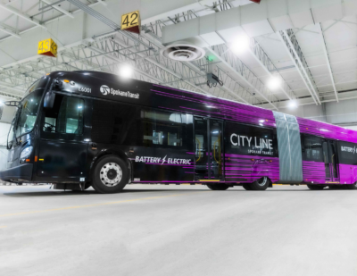 Spokane Transit adds 12 New Flyer Xcelsior CHARGE EVs