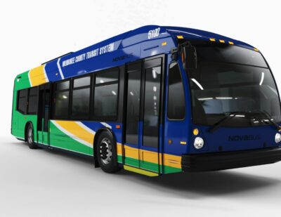 Milwaukee County Selects Nova Bus for 15 Electric LFSe+ Buses