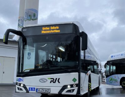 Solaris Starts Deliveries of Urbino Hydrogen Buses to Cologne