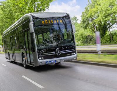Métropole Rouen Normandie Orders Ten eCitaro Buses
