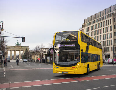 BVG: Order to Take Berlin's ADL Enviro500 Double Deck Fleet to 200