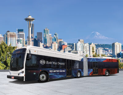 Washington State Selects BYD for Statewide Contract