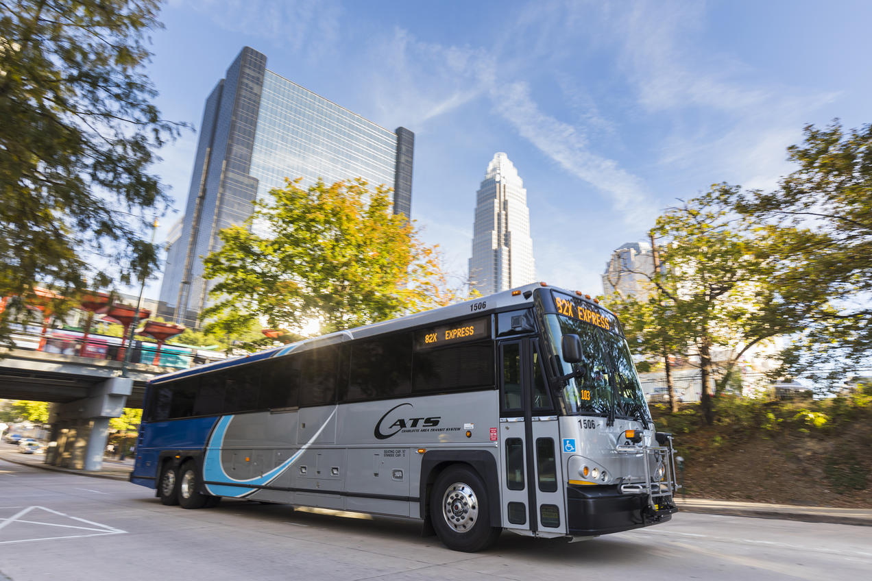 Charlotte electric bus