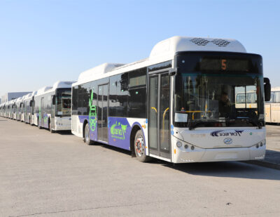 31 Higer CNG Buses Exported to Israel