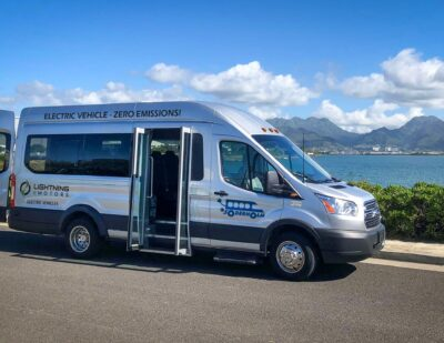Lightning eMotors Partners with Soderholm Bus & Mobility in Hawaii