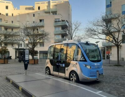 Navya Launches Autonomous Shuttle Service at Saint-Quentin-en-Yvelines