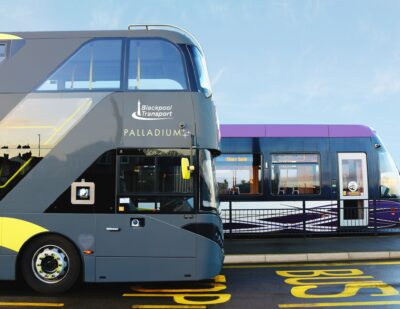 Blackpool Transport Sign New 3-Year Contract With Passenger
