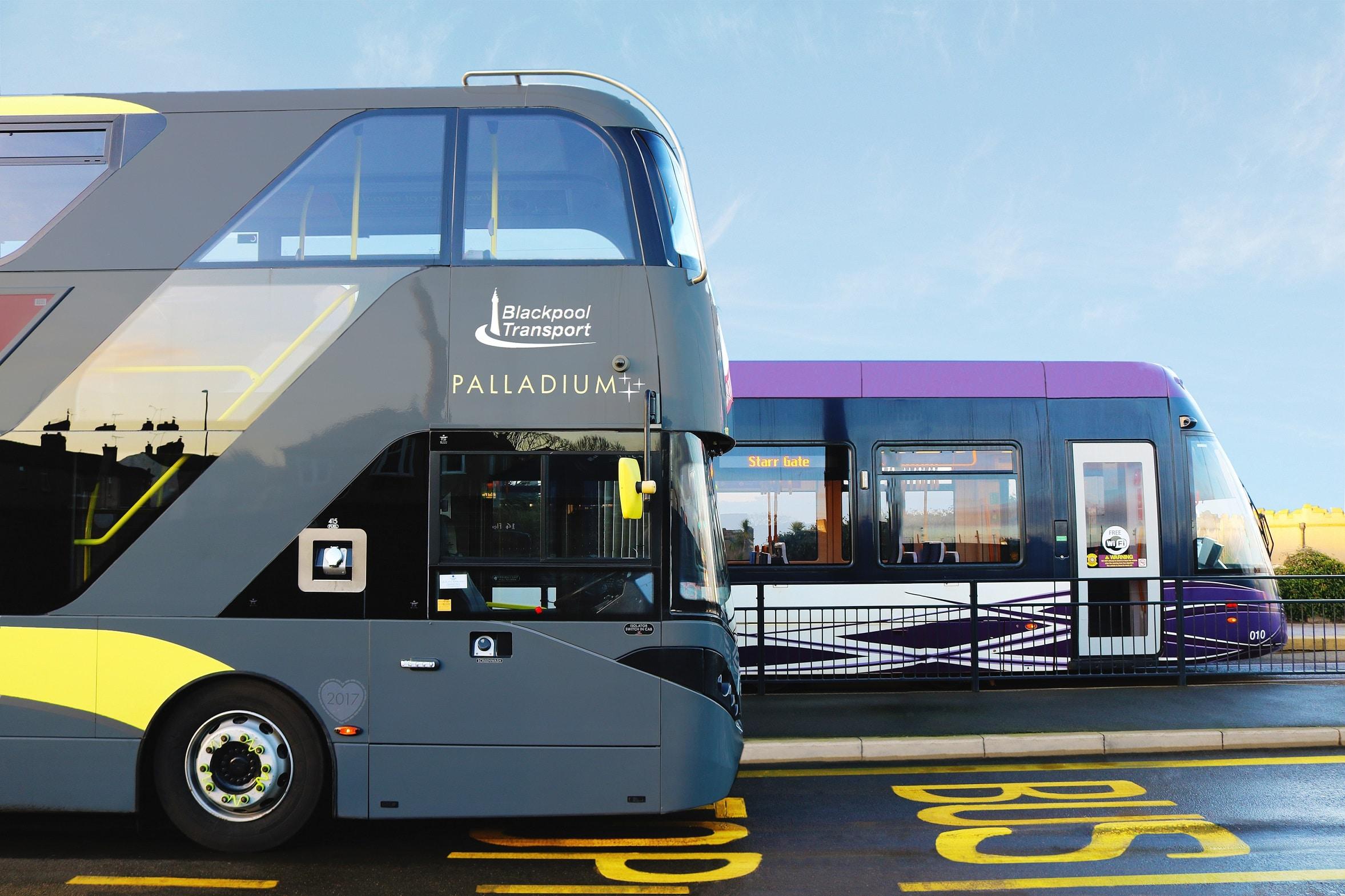 passenger Blackpool transport