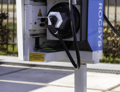 ROCSYS, Grivix and VDL ETS Cooperate for Robotic Fast Charging
