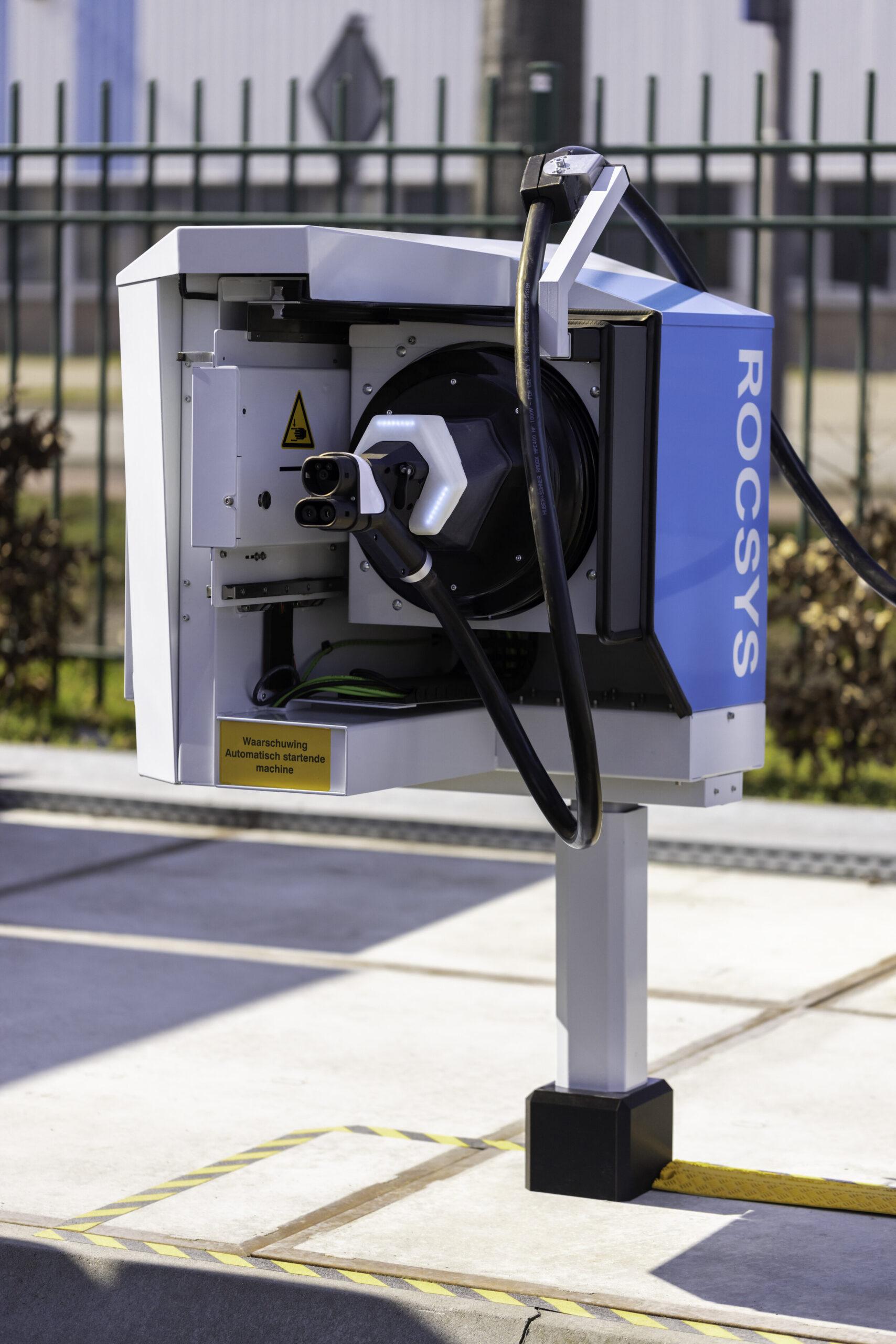 robotic fast charging