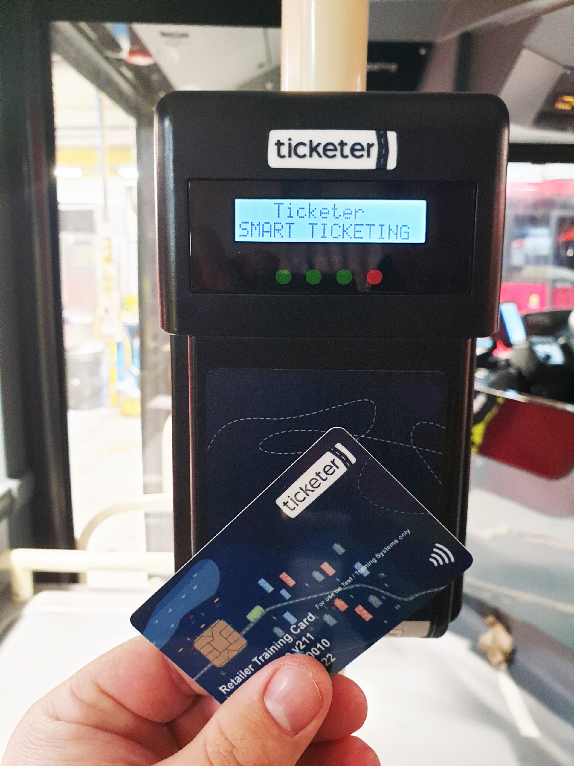 Ticketer Contactless Tap Off Reader