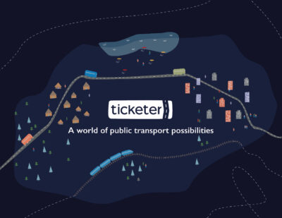 Ticketer World with logo