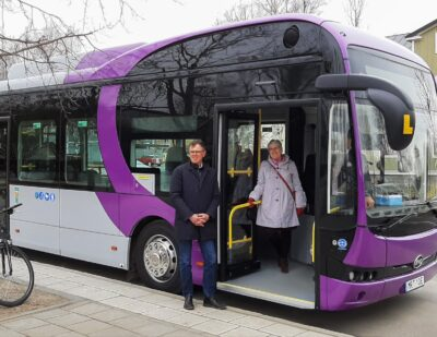 BYD Begins eBus Deliveries to Nobina in Sweden