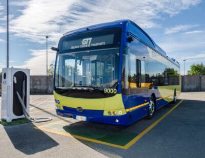 BYD Seals the Largest Electric Bus Order in Turin