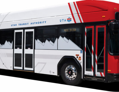 GILLIG Wins $44.2 Million Contract for Battery Electric Buses in Utah