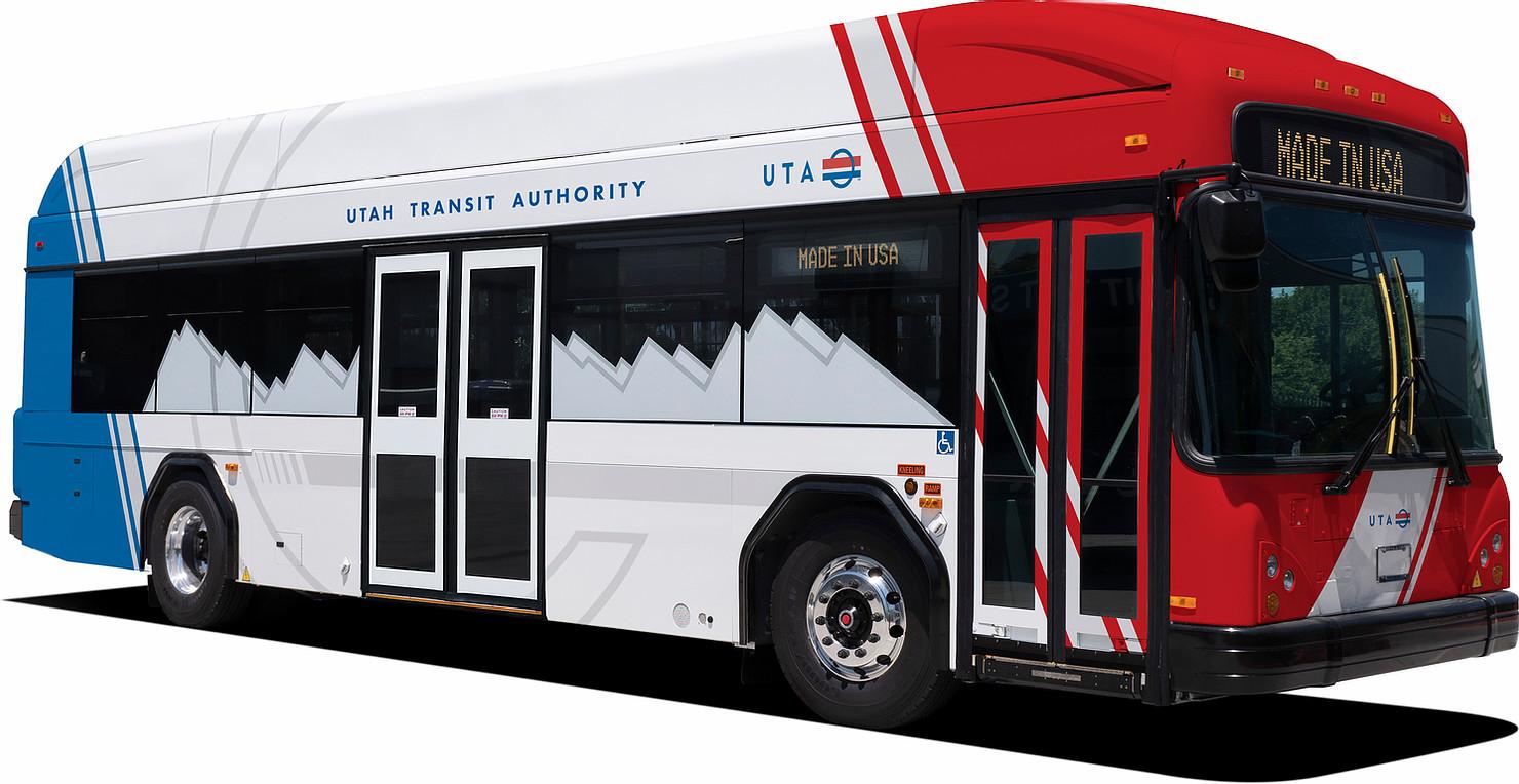 gillig electric buses Utah