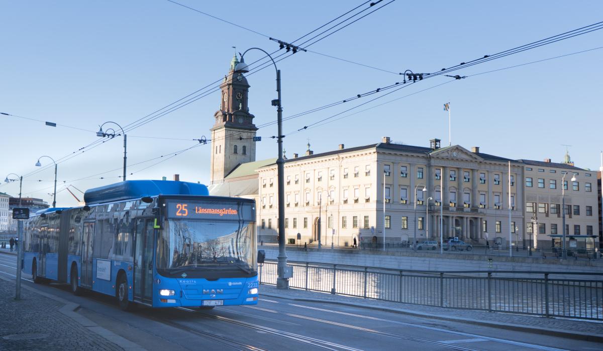 Keolis contract Sweden