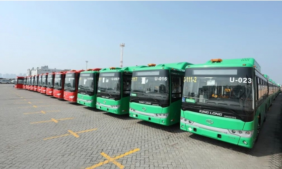 king long buses Mexico