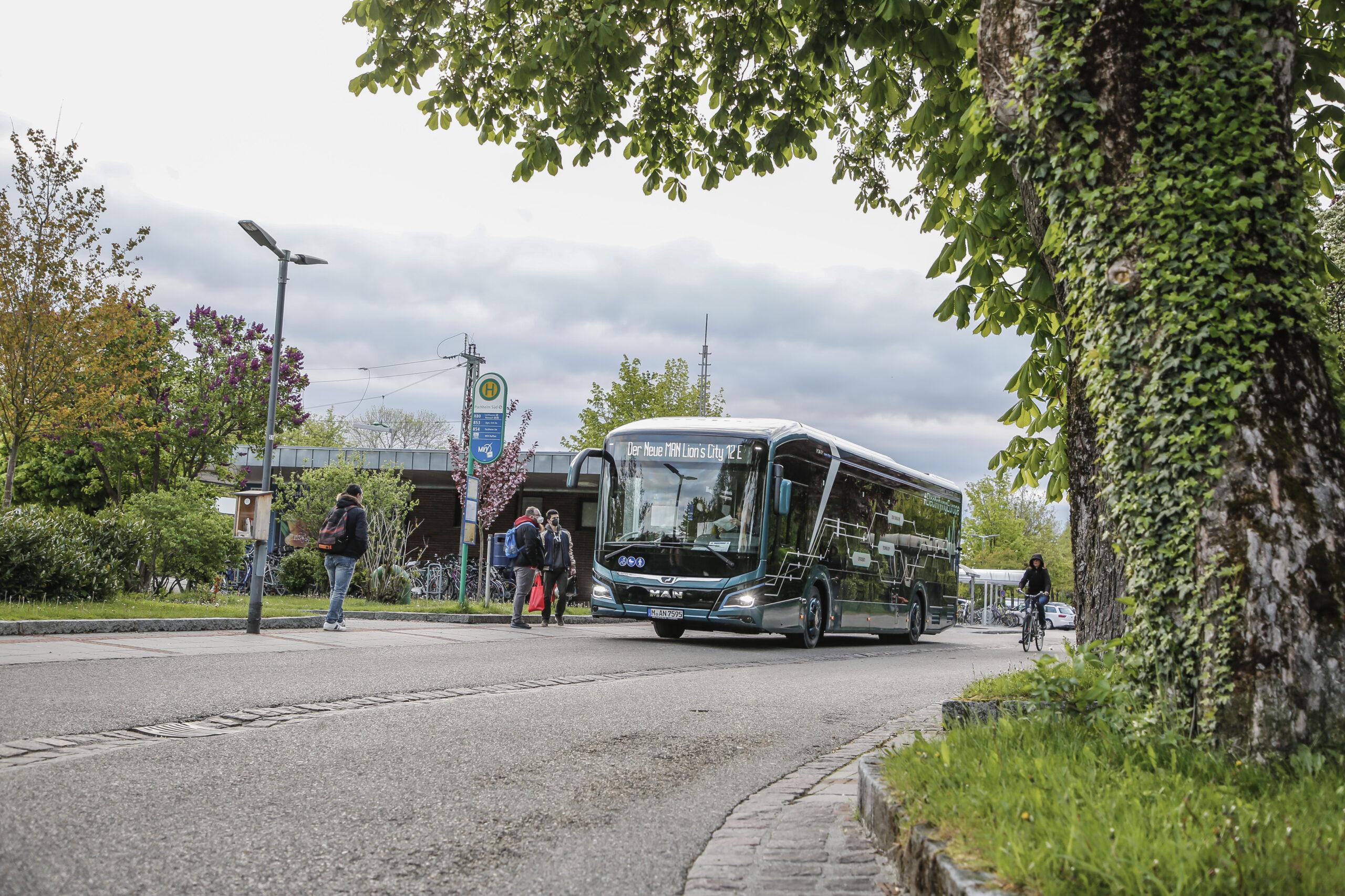 MAN electric bus range