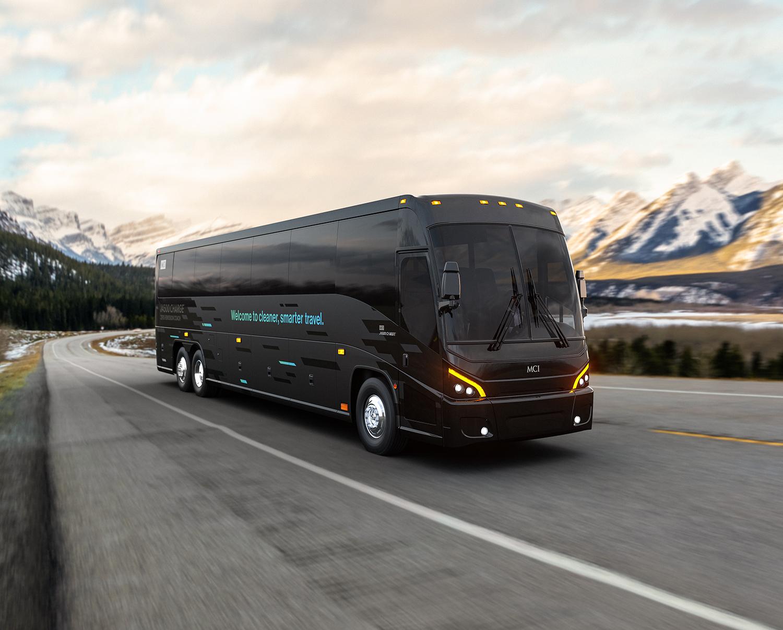 mci electric luxury coach
