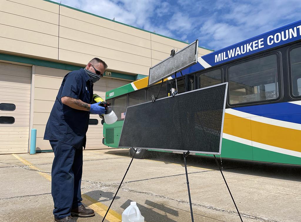 Milwaukee transit air filtration