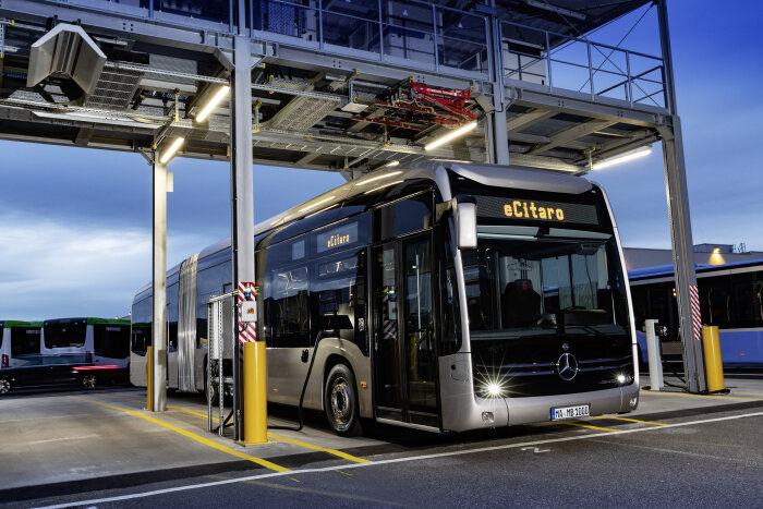 mercedes-benz buses Basel