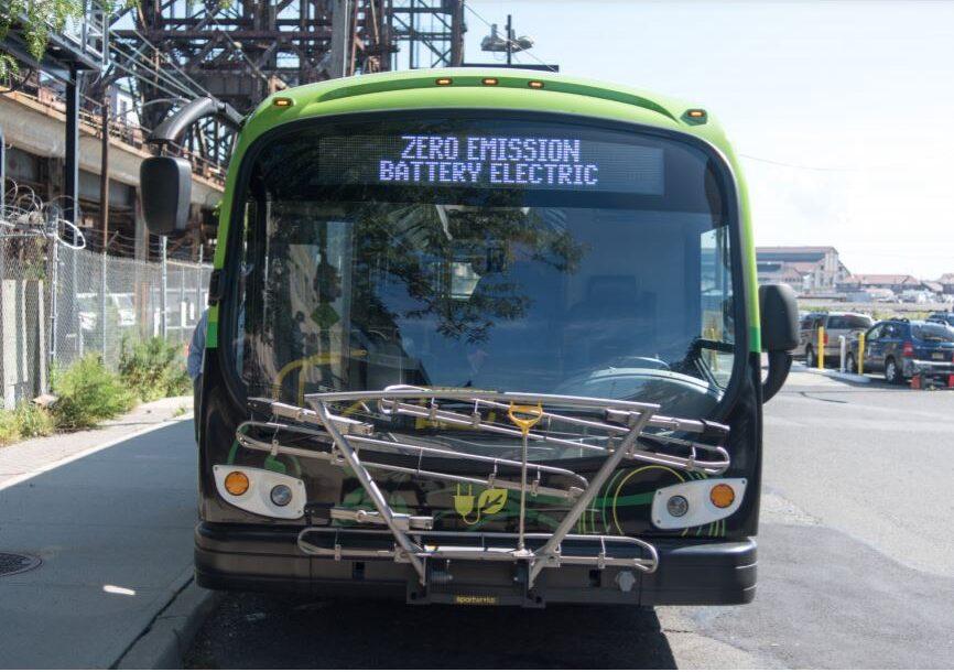 nj transit zero emissions