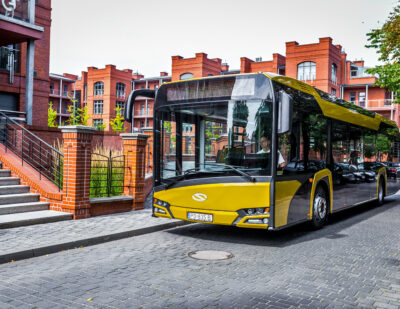 Barcelona to Receive More Hybrid Solaris Buses