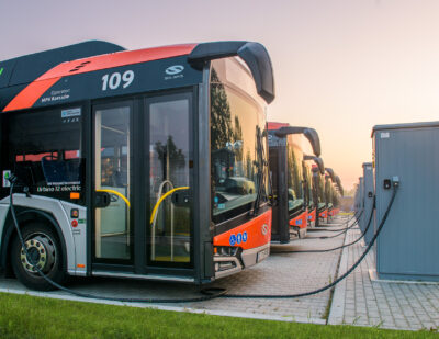 Electric Solaris Buses and Charging Infrastructure for Gorzów