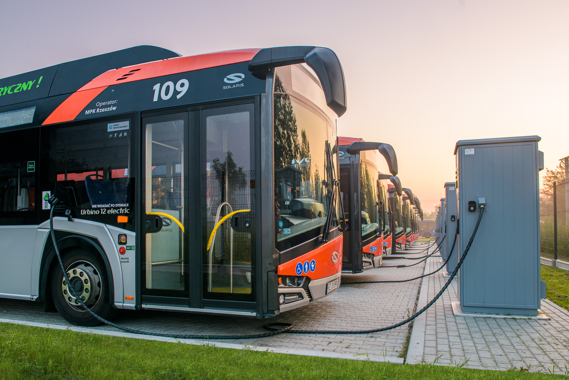 electric solaris buses gorzów