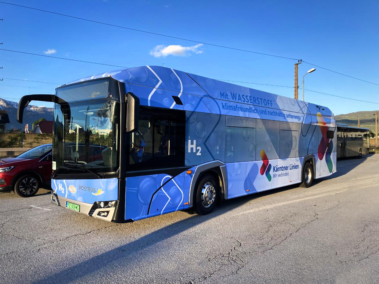 solaris hydrogen buses austria
