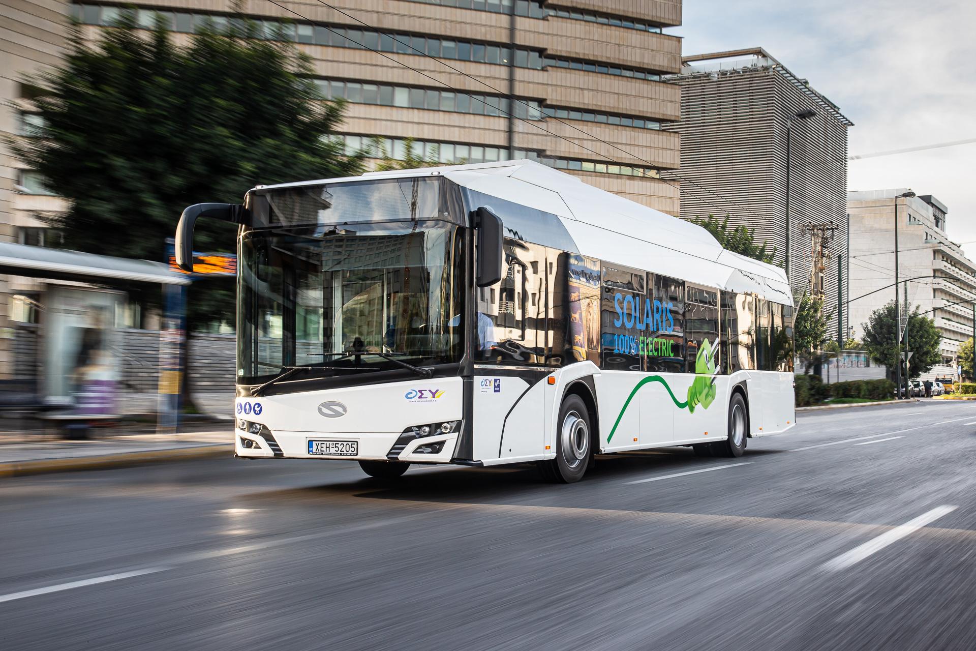 Switzerland solaris electric buses