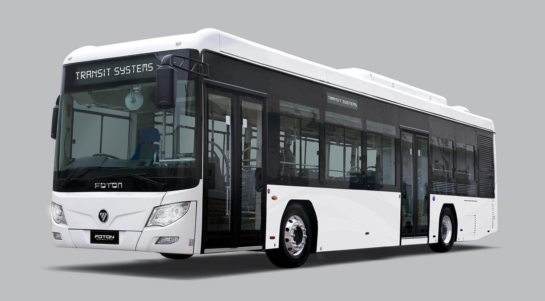 transit systems hydrogen bus