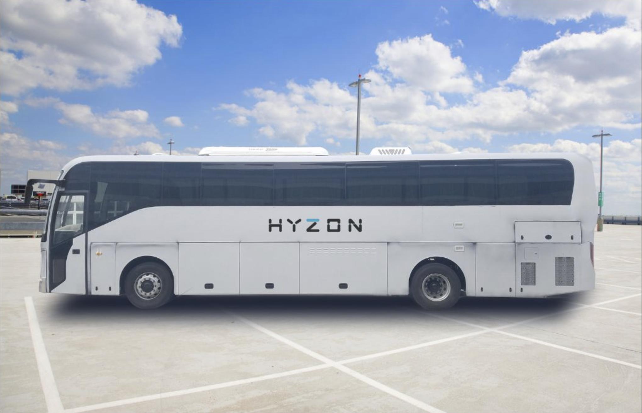 Hyzon motors hydrogen coach