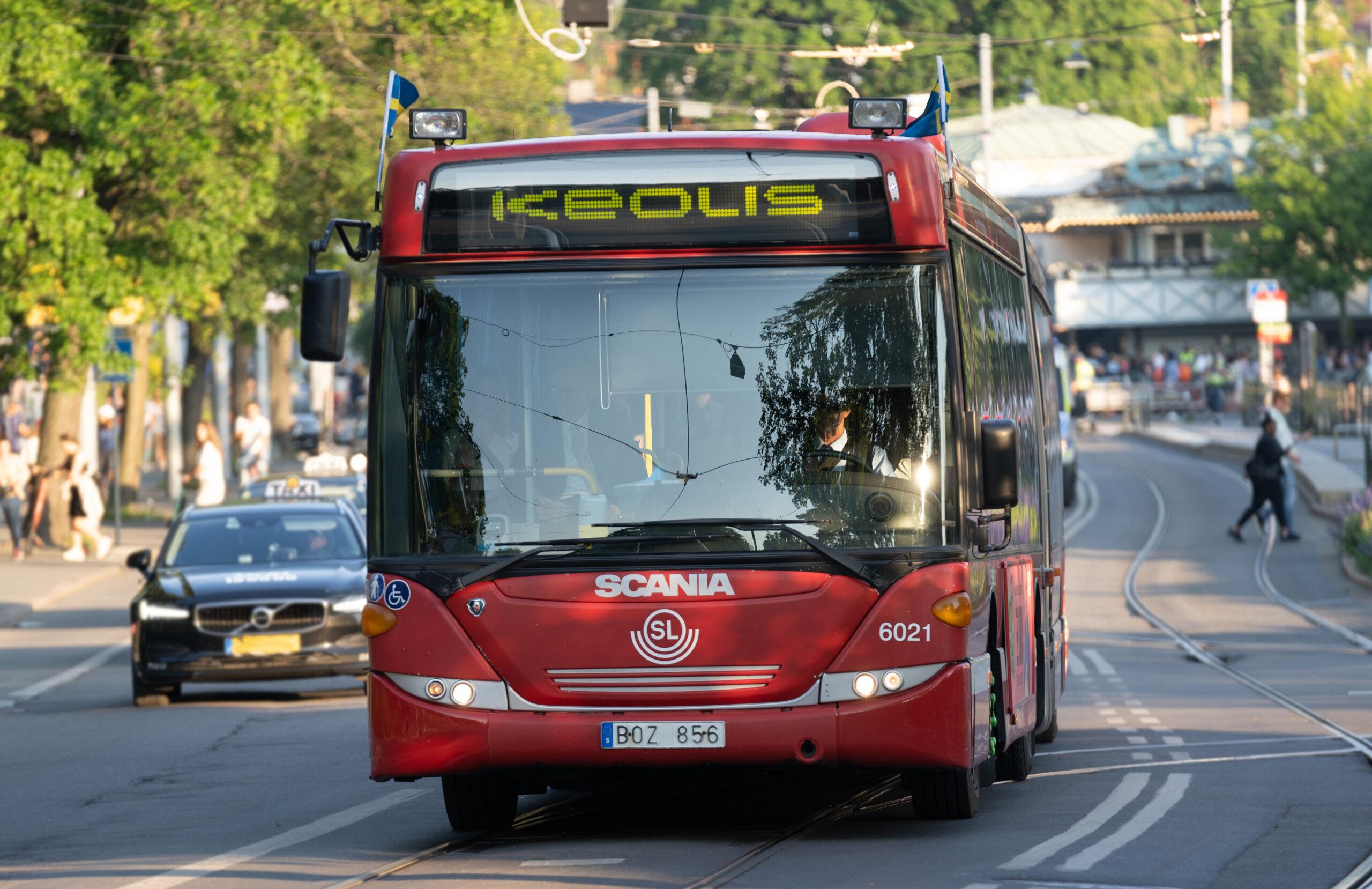 Keolis buses uppsala