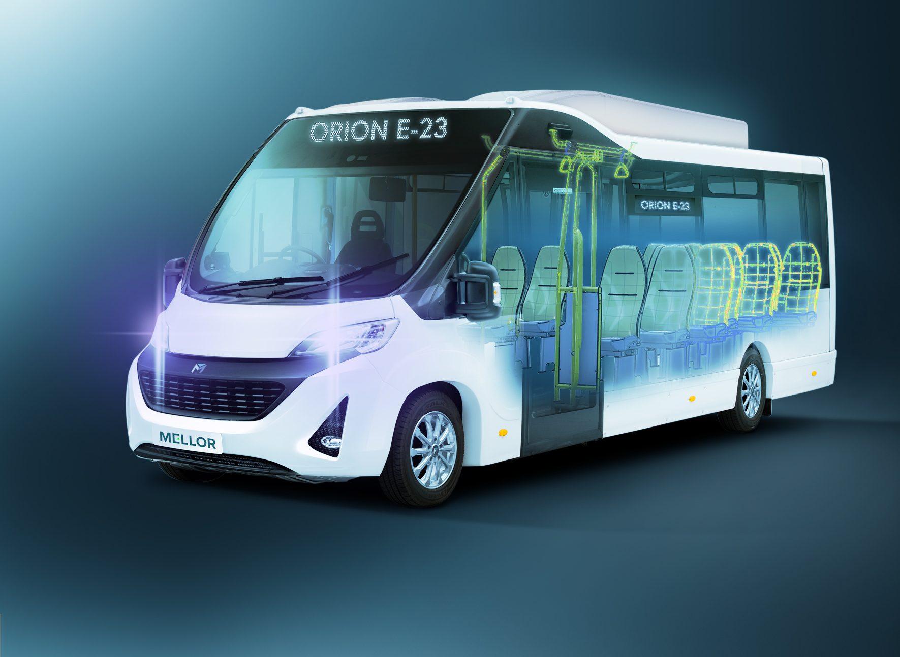 Mellor electric bus e23