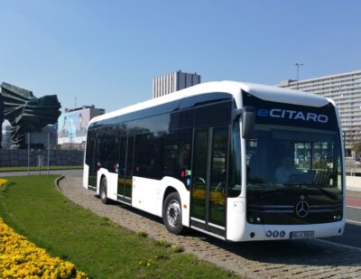Fully-Electric Mercedes-Benz eCitaro Will Soon Be on the Road in Poland