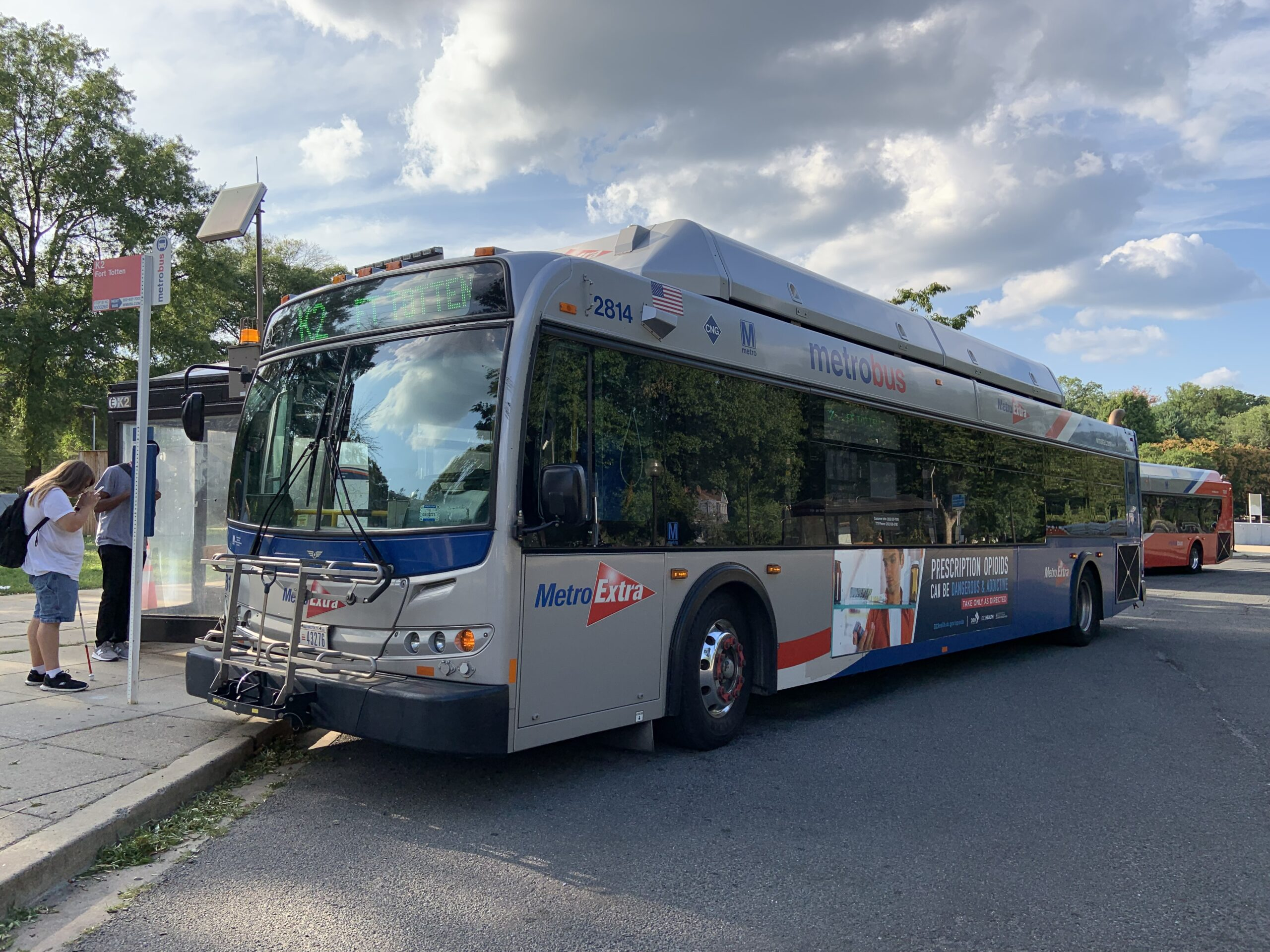 new flyer buses Washington