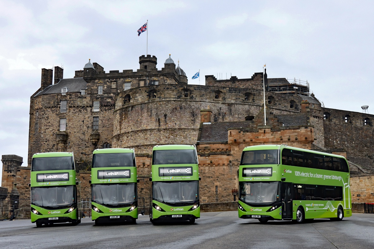 BYD ADL Lothian buses