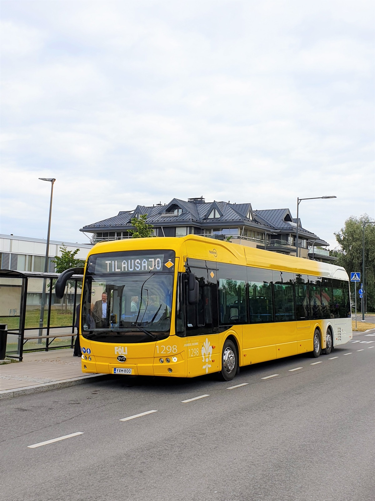 byd ebuses finland