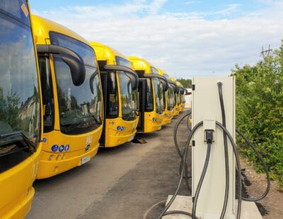 Finland's First BYD eBuses Hit the Road in Turku