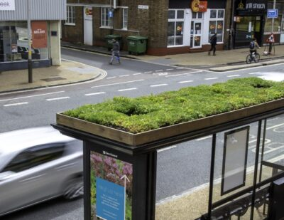 New Network of 'Bee Bus Stops' Springing up in Leicester