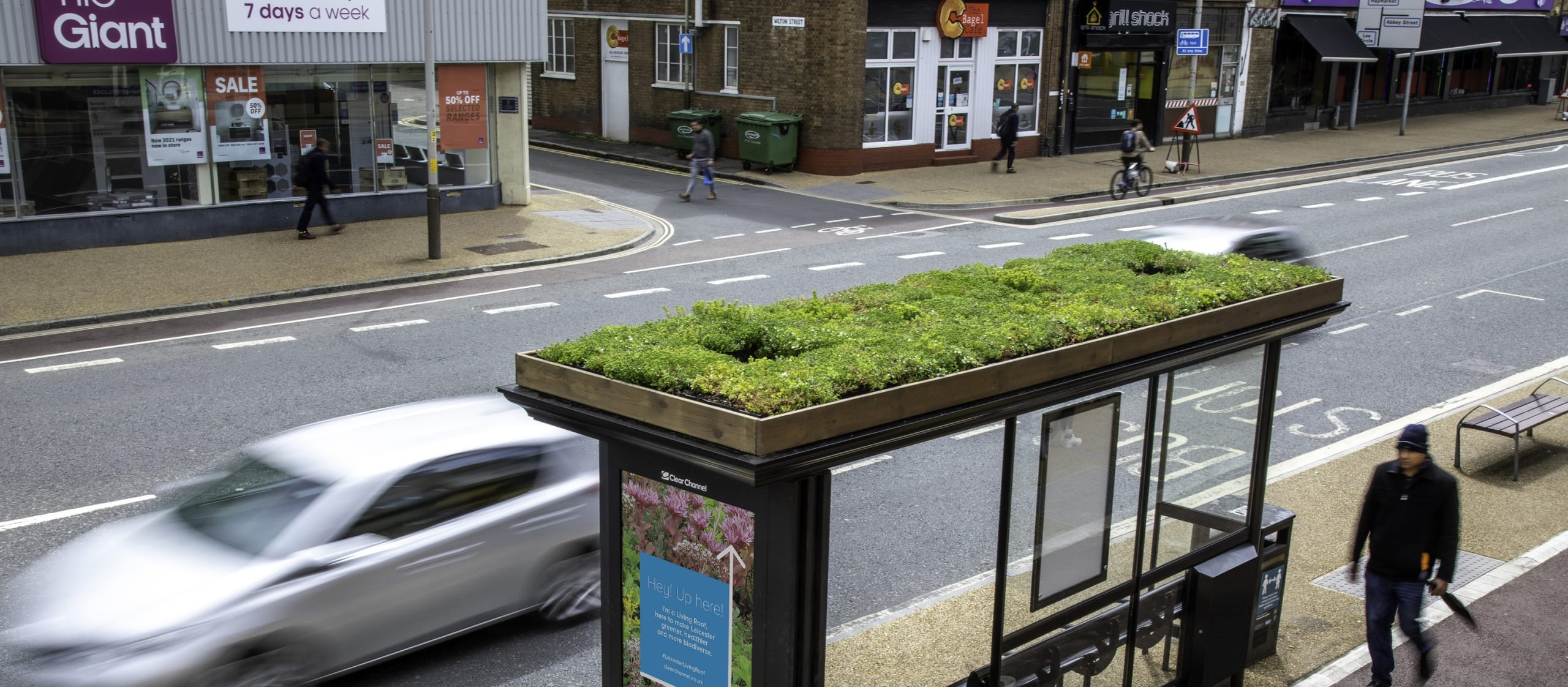 leicester bus stops